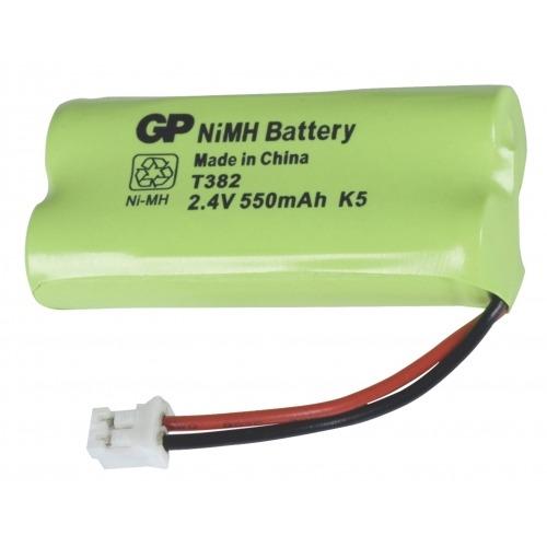 Batería para teléfono inalámbrico NiMH 2.4 V 550 mAh