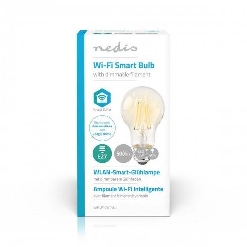 Bobilla LED Wi-Fi Inteligente | Filamento | E27 | Blanco | A60