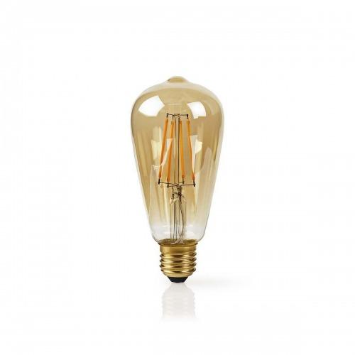 Bombilla LED Wi-Fi Inteligente de Filamento | E27 | ST64 | 5 W | 500 lm