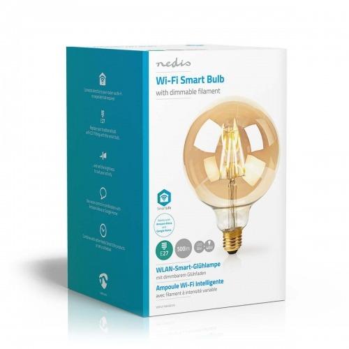 Bombilla LED Wi-Fi Inteligente de Filamento | E27 | 125 mm | 5 W | 500 lm