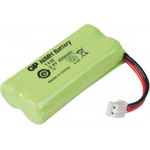 Batería para teléfono inalámbrico NiMH 2.4 V 400 mAh