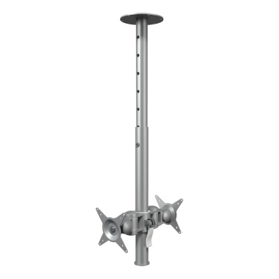 Viewmate Brazo Para Monitor Ceiling 572 Inclinable 30 Kg Plata