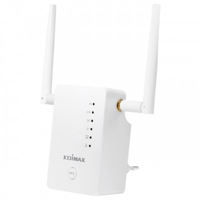 Extensor Inalámbrico 2.4/5 Ghz (Dual Band) Wi-Fi Blanco