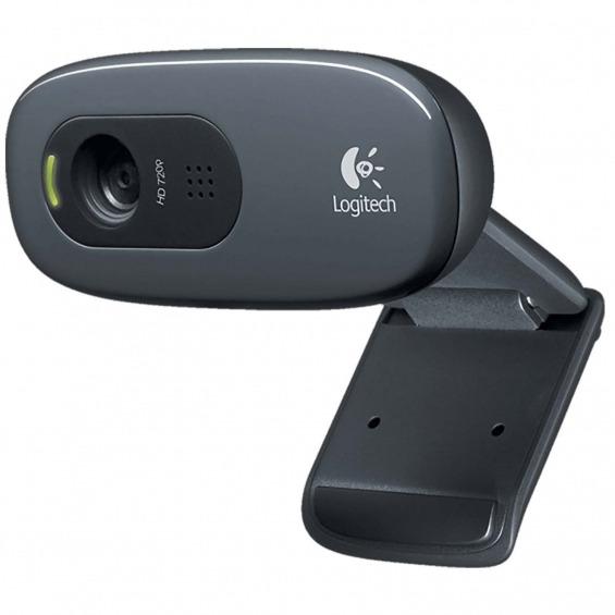 Cámara Web USB 2.0 3 MPixel 720p Negro