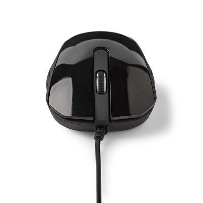 Ratón Con Cable Para Escritorio | 1000 Ppp | 3 Botones | Negro