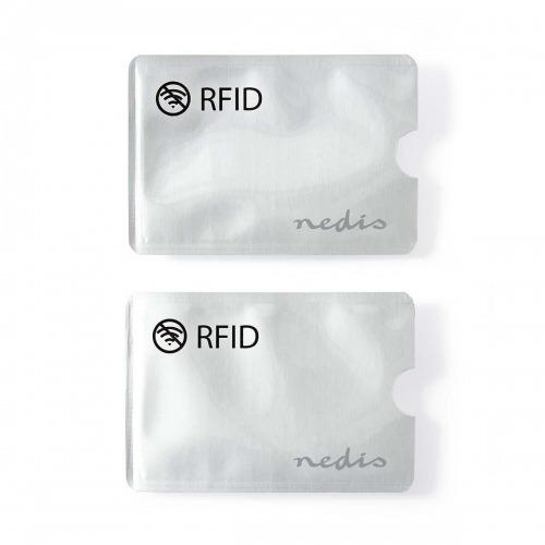 Funda Protectora de RFID | Capacidad para 3 tarjetas | Aleación de aluminio