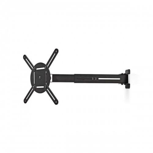 Soporte de Pared para Proyector | Capacidad de Giro de 360° | Hasta 10 kg | 314-500 mm de Distancia a la Pared | Negro