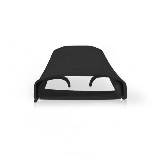 Cubierta para Cable | • 110 x 6 cm | Negro