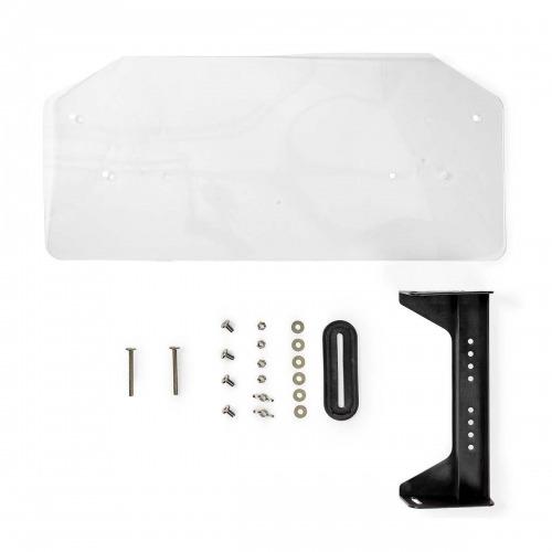 Cubierta de Protección Térmica para LNB | • 14 x 25 cm | Negro/transparente