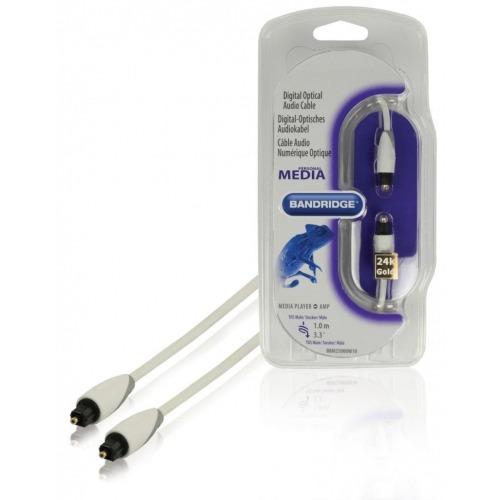 Cable óptico de audio digital Toslink de 1.00 m