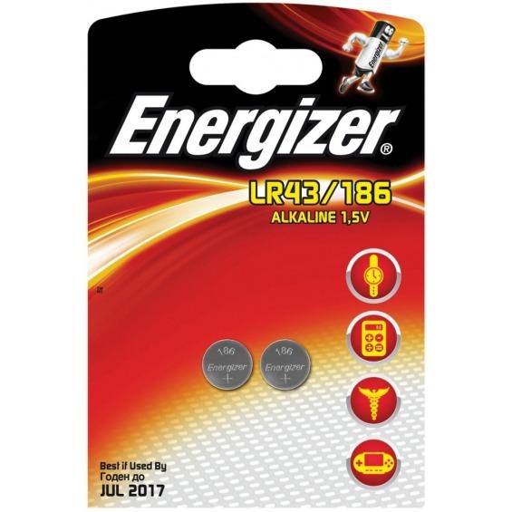Alkaline battery LR43 1.5V 2-blister