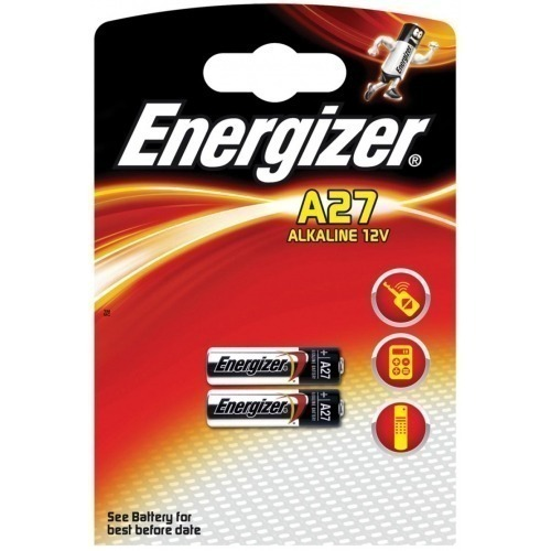 Alkaline battery A27 12V 2-blister
