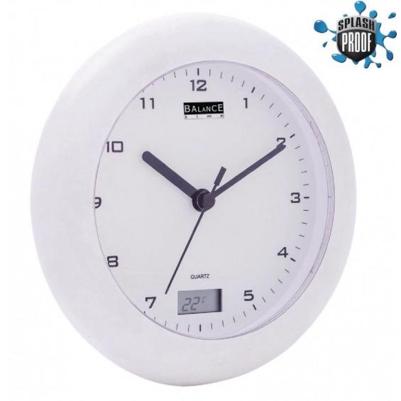 Bathroom clock /Thermometer