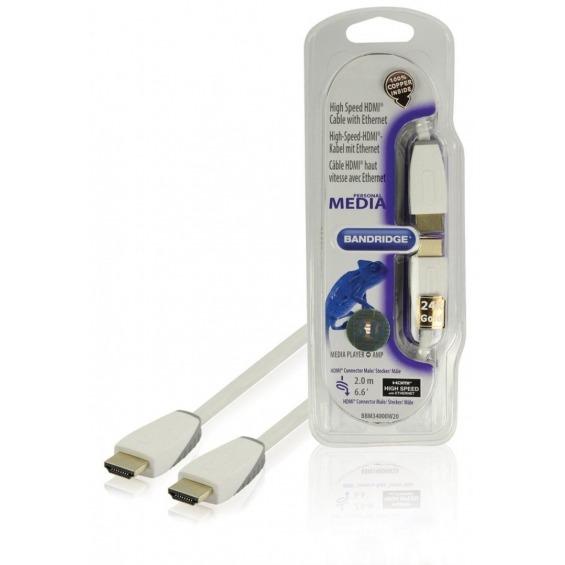 Cable HDMI® de alta velocidad con Ethernet de 2.00 m