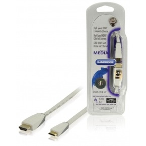 Cable mini HDMI® de alta velocidad con Ethernet de 1.00 m