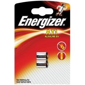 Alkaline battery A11 6V 2-blister