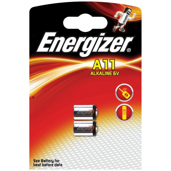 Alkaline battery A11 6V 2-blister