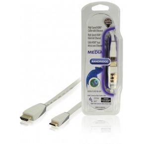 Cable mini HDMI® de alta velocidad con Ethernet de 2.00 m