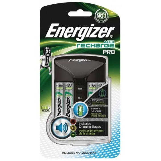 Pro charger + 4 AA 2000 mAh