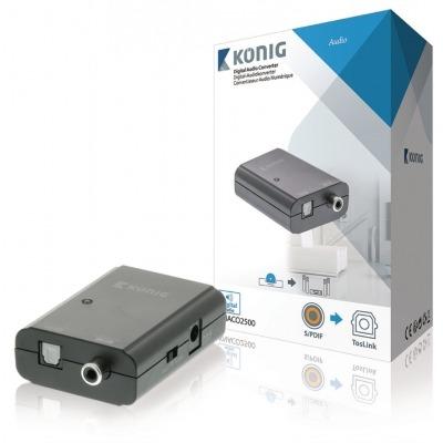 Convertidor De Audio Digital, S/pdif Hembra - Toslink Hembra
