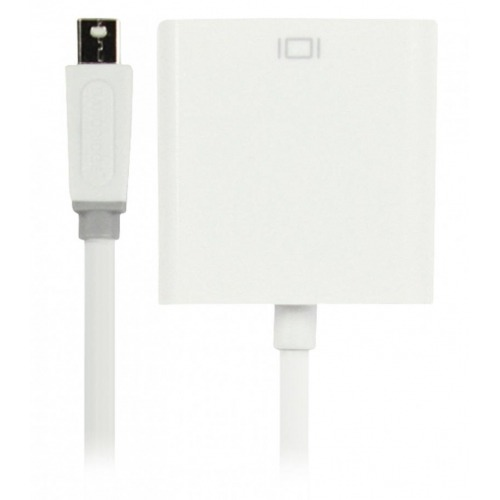 Adaptador Mini DisplayPort – DVI de 0.20 m