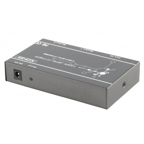 Divisor VGA profesional de 2 puertos