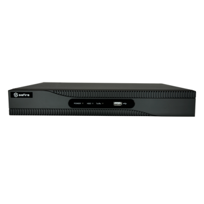 Grabador Nvr Para Cámaras Ip - 4 Ch Vídeo / Compresión H.265+ - 4 Canales Poe - Resolución Máxima 8Mpx - Ancho De Banda 40 Mbps - Salida Hdmi 4K Y Vga - Admite 1 Disco Duro