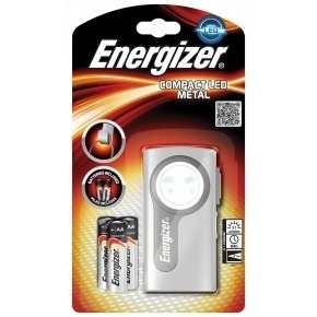 Compact LED including batteries