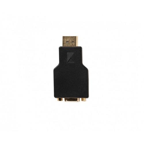 Adaptador DisplayPort - VGA de DisplayPort macho a VGA hembra; 1 ud. en gris