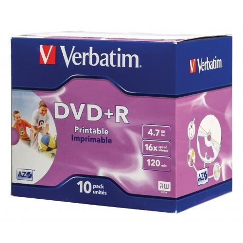 DVD 4.7 GB 10 Piezas