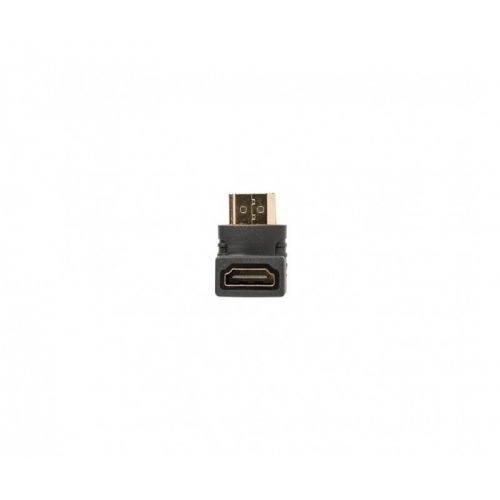 Adaptador en ángulo de 90° HDMI™ de Conector HDMI™ a entrada HDMI™, 1 ud. en gris