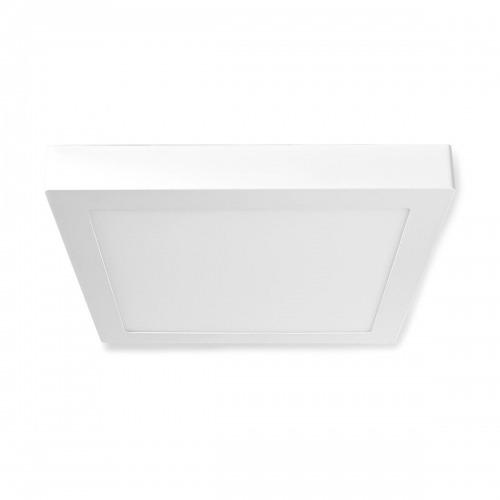 Luz de Techo Wi-Fi Inteligente | Cuadrada | 30 x 30 cm | Blanco Cálido a Frío | A Todo Color (RGB) | 1200 lm | 18 W | Diseño Compacto | Aluminio