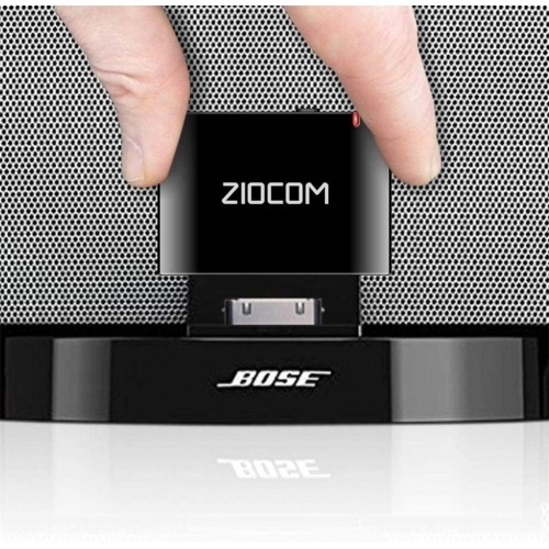 Adaptador Bluetooth para Bose Sounddock y Otra estación de Acoplamiento de música 30Pin iPhone iPod Dock Speaker,