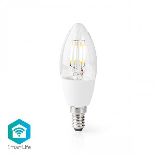 Bombilla LED Wi-Fi Inteligente   E14   C37   5 W   400 lm   Blanca