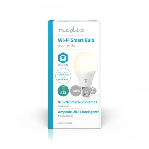 Bombilla LED Inteligente con Wi-Fi | Blanco Cálido | B22