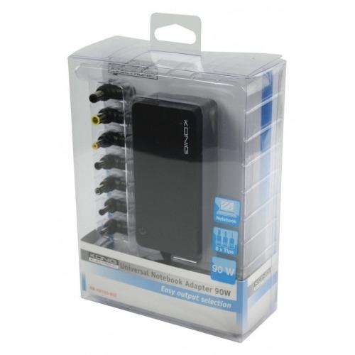 Adaptador universal para portátil de 90W
