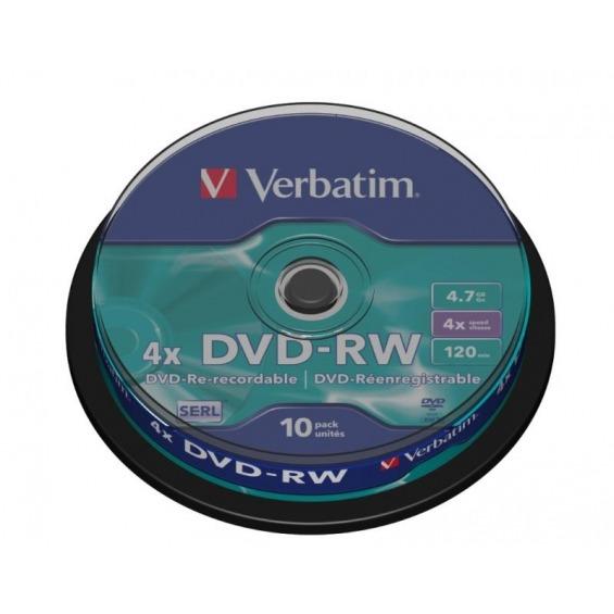 10x DVD-RW 4.7 GB