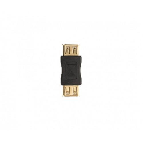 Acoplador USB 2.0 de A hembra a A hembra, 1 ud. en gris