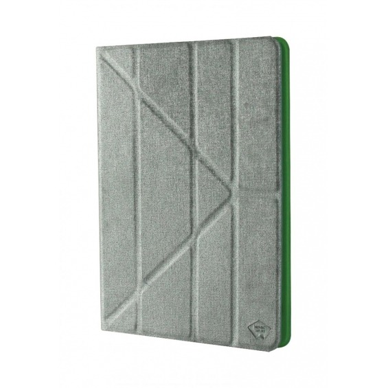 Universal tablet case pu leather for tablet 9-10 grey/green