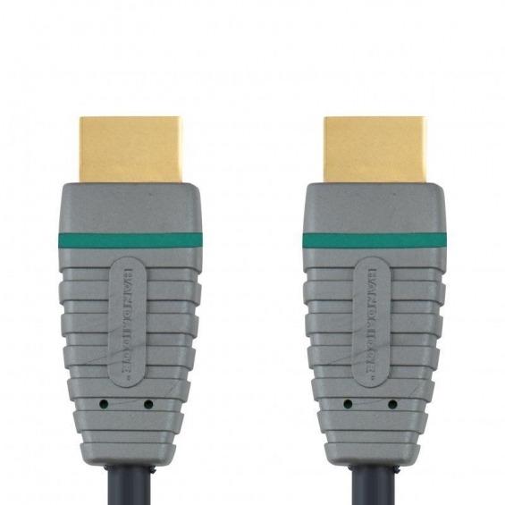 Cable HDMI® de alta velocidad con Ethernet 1.0 m