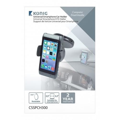 Soporte universal de smartphone para coche