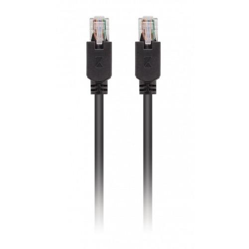 Cable de red UTP CAT5e de RJ45 macho a macho de 2,00 m en gris