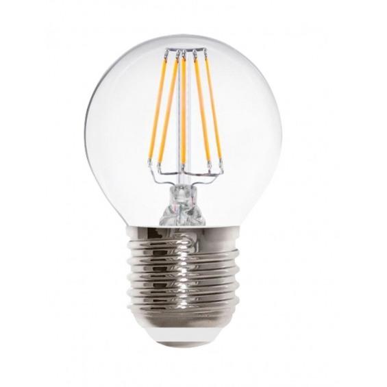 Bombilla globo LED, 4W, base E27