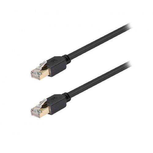 Cable de red FTP CAT6 de RJ45 macho a macho de 7,50 m en gris
