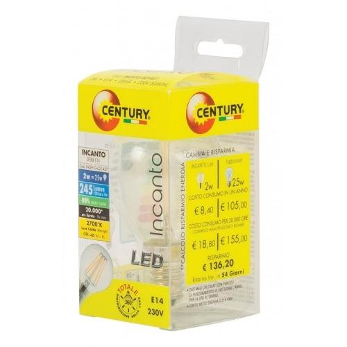Bombilla micro LED Incanto, 2W