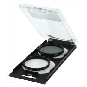 Pack doble de filtros polarizados UV & CPL (52mm)