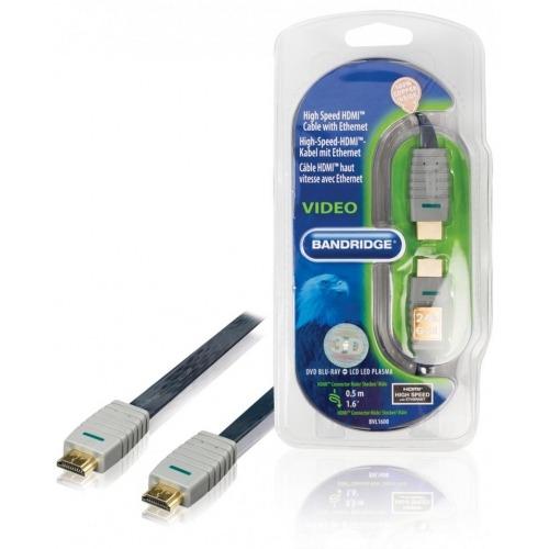Cable HDMI® de alta velocidad con Ethernet 0.5 m