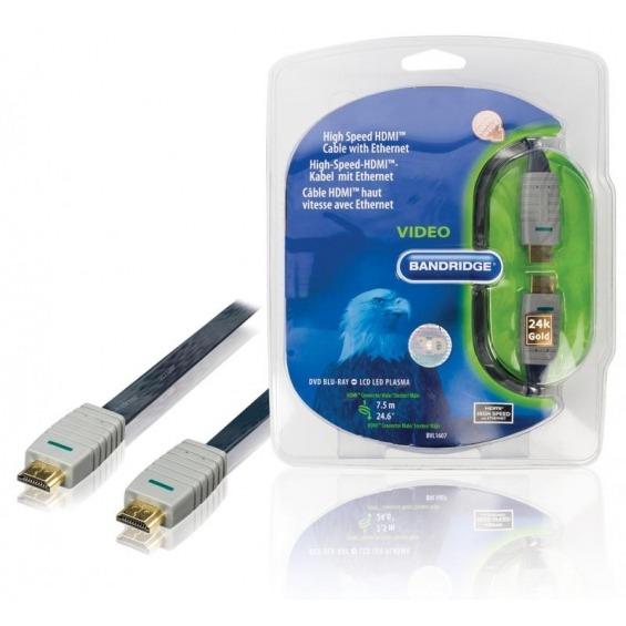 Cable HDMI® de alta velocidad con Ethernet 7.5 m