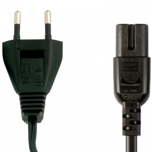 Cable de Alimentación con Conector Tipo Figura 8 1.8 m