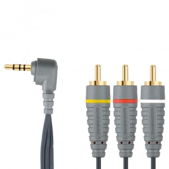 Cable de Vídeo Estéreo 3,5mm 2.0 m